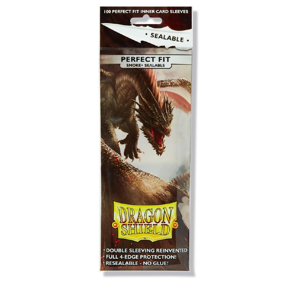 Dragon Shield Perfect Fit Sealable Smoke 100
