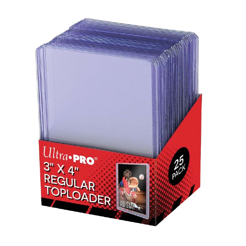 Ultra Pro 3x4 Clear Regular 25