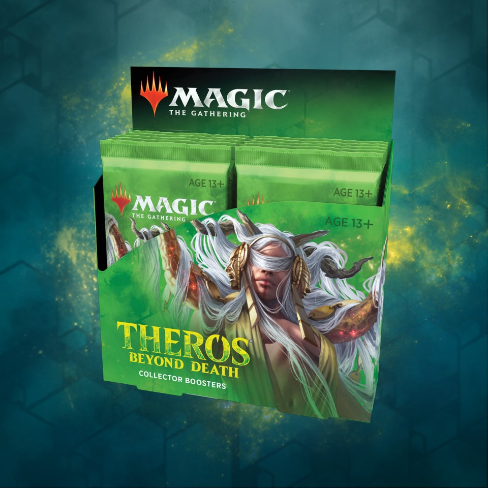 MTG Theros Beyond Death Collector Display 12 Booster Packs Englisch