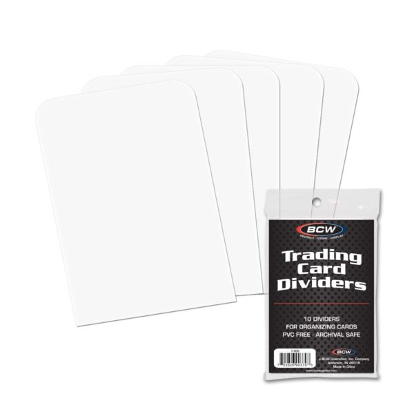 BCW Trading Card Dividers 10