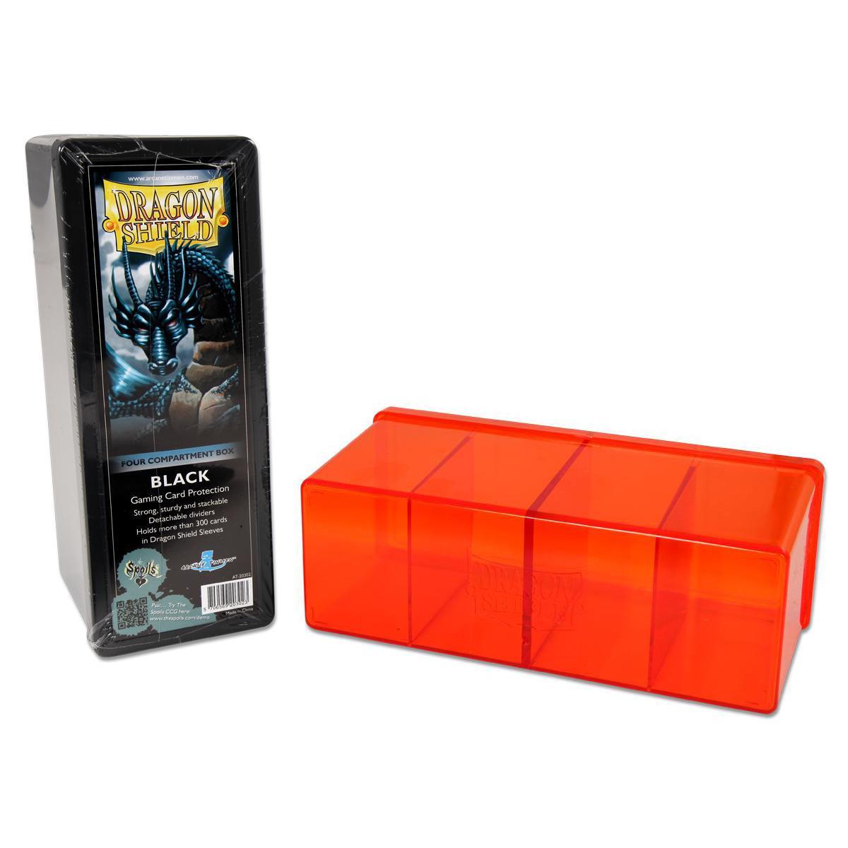 Dragon Shield 4 Compartment Box