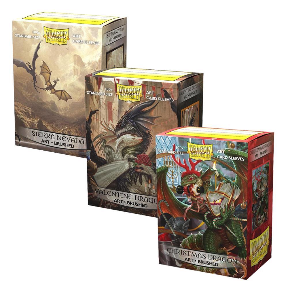 Dragon Shield Brushed Art 100
