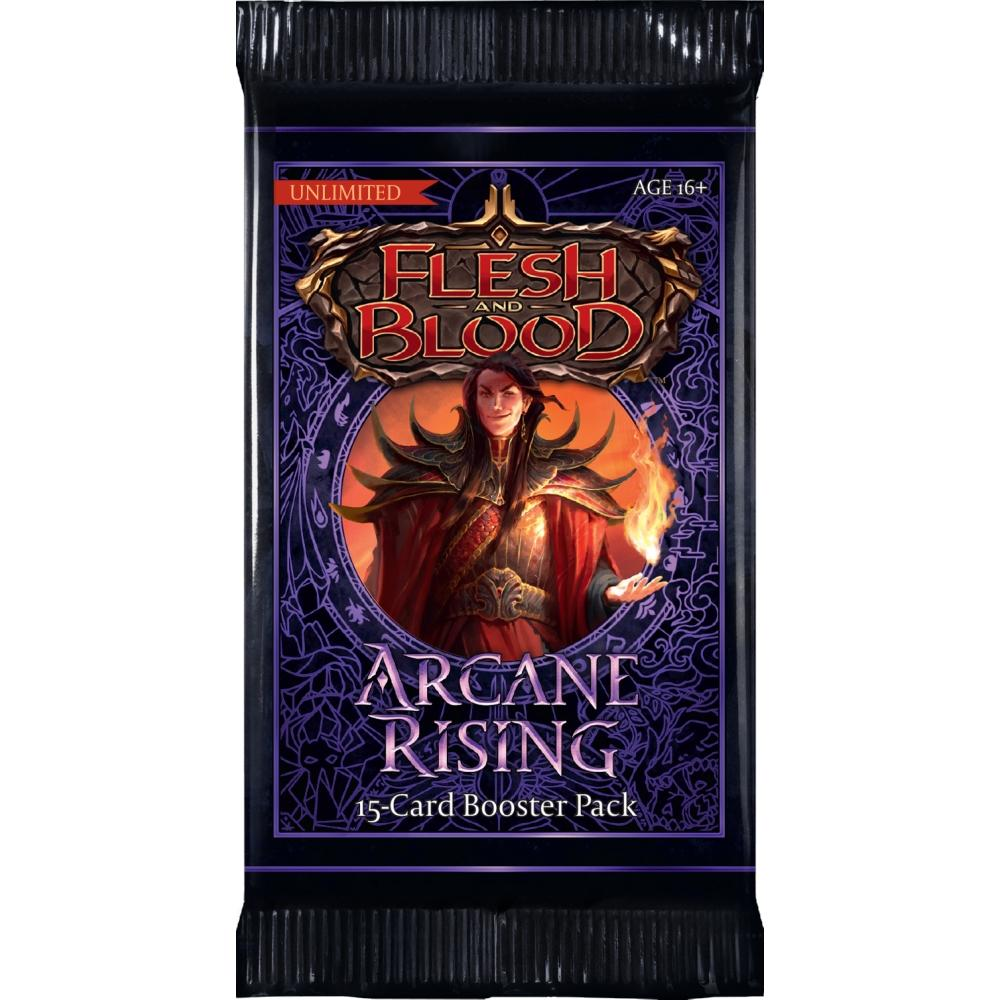FAB Flesh and Blood Arcane Rising Unlimited Booster Pack EN