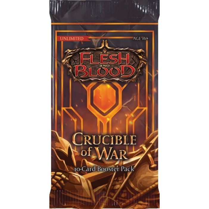FAB Flesh and Blood Crucible of War Unlimited Booster Pack EN