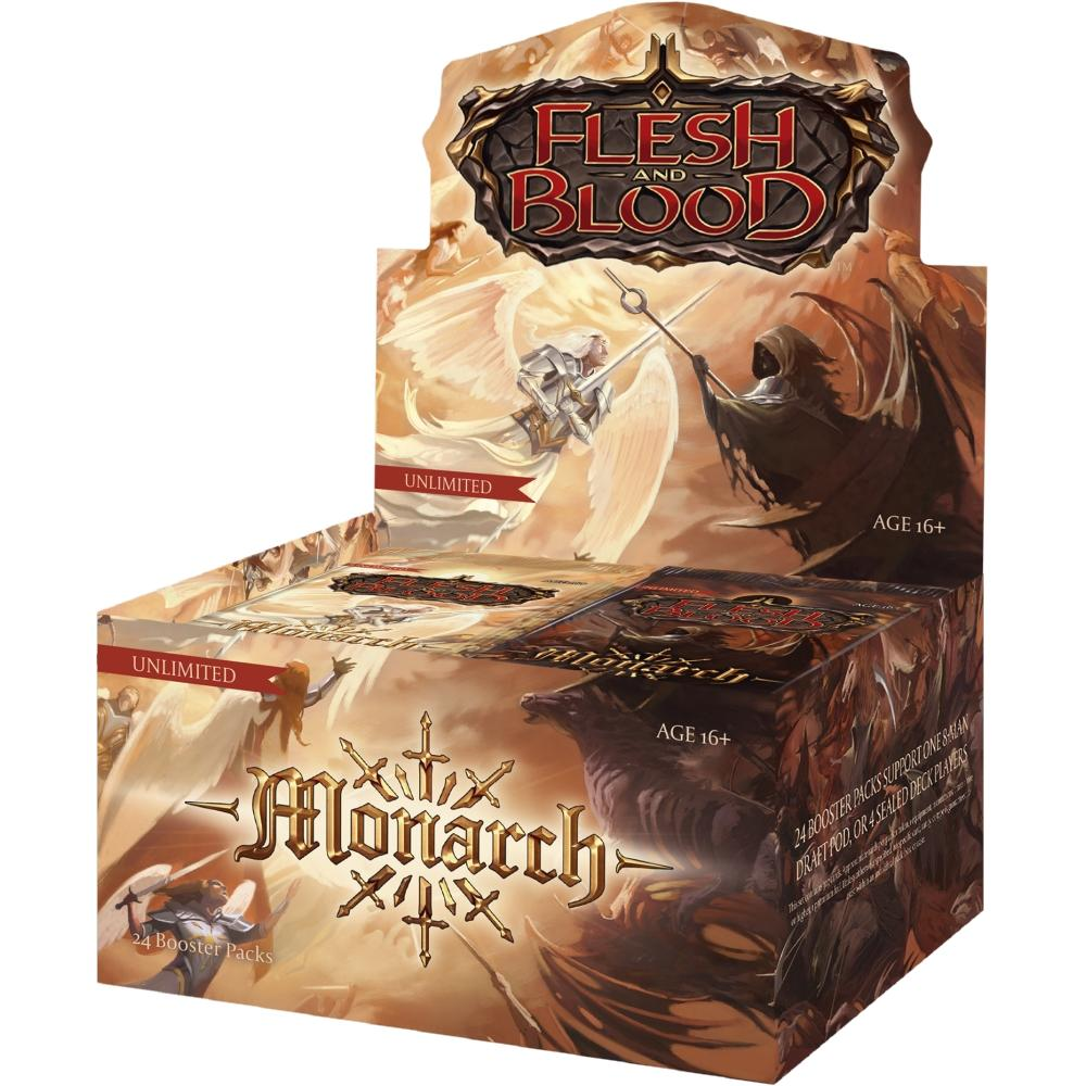 FAB Flesh and Blood Monarch Unlimited Booster Display EN