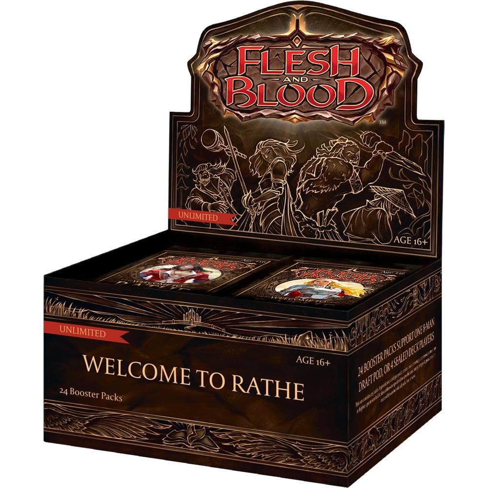 FAB Flesh and Blood Welcome to Rathe Unlimited Booster Display EN