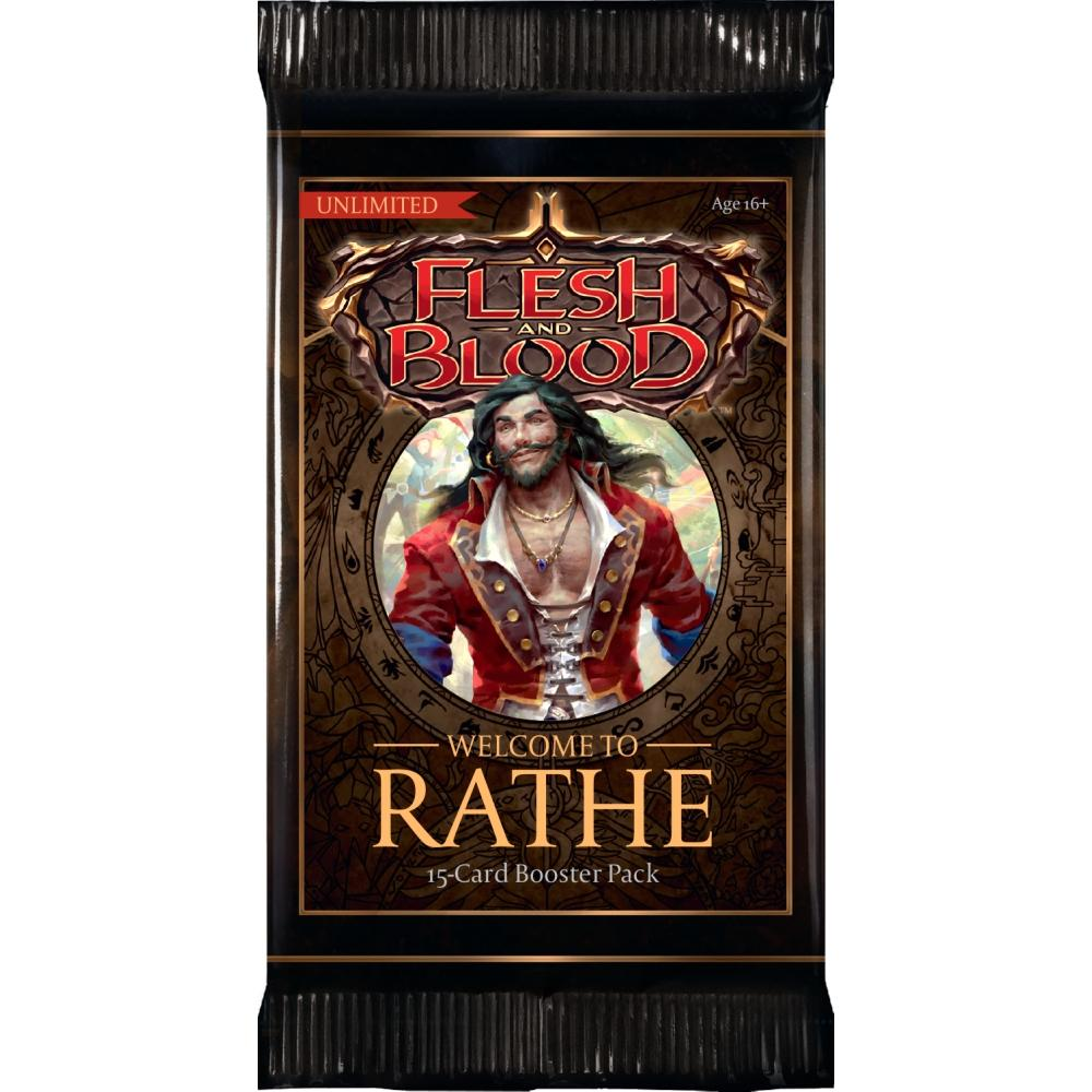 FAB Flesh and Blood Welcome to Rathe Unlimited Booster Pack EN