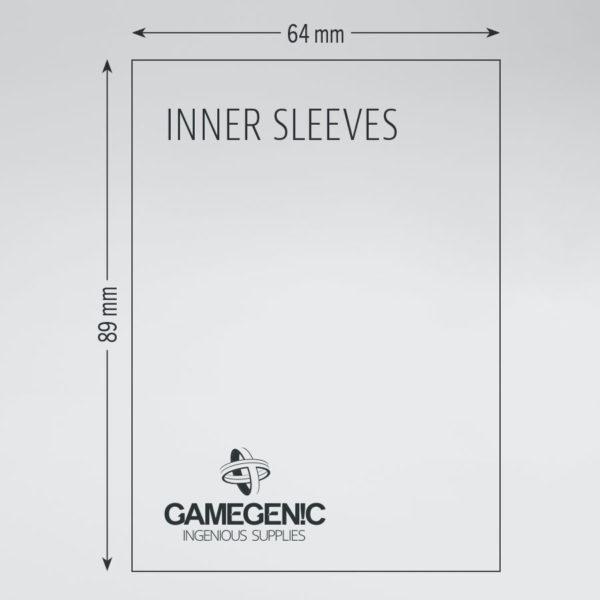 Gamegenic Inner Sleeves 100