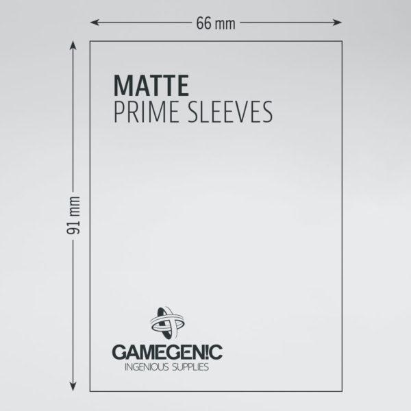 Gamegenic Matte Prime Sleeves 100