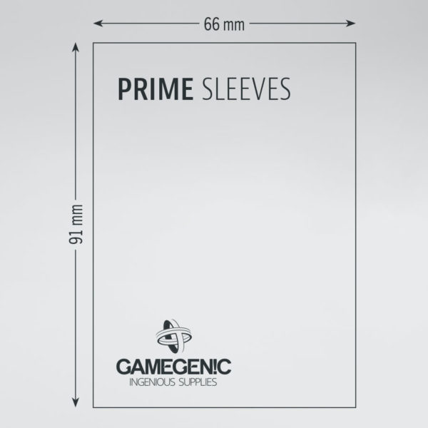 Gamegenic Prime Double Sleeving Pack 2x80