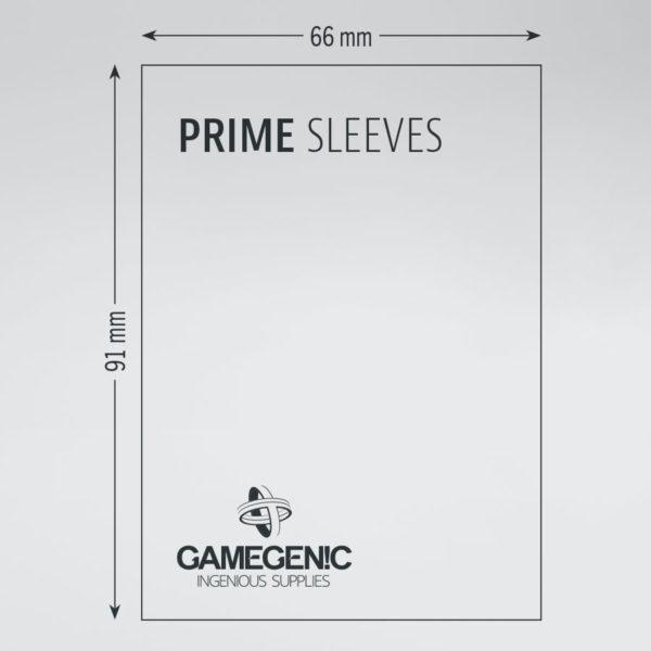 Gamegenic Prime Sleeves 100