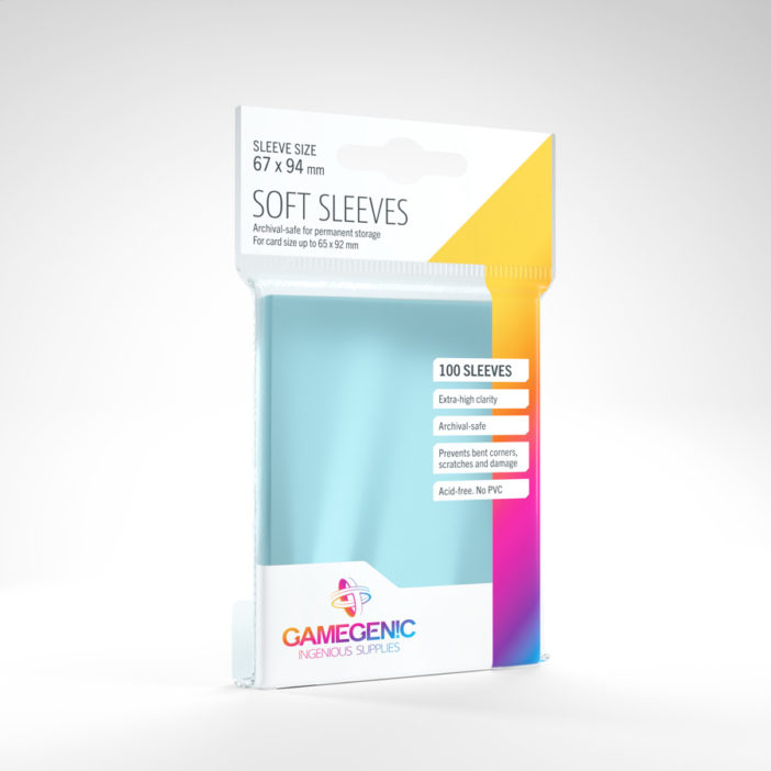 Gamegenic Soft Sleeves 100