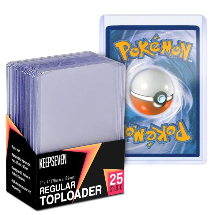 KEEPSEVEN 3x4 Clear Regular Toploader 25
