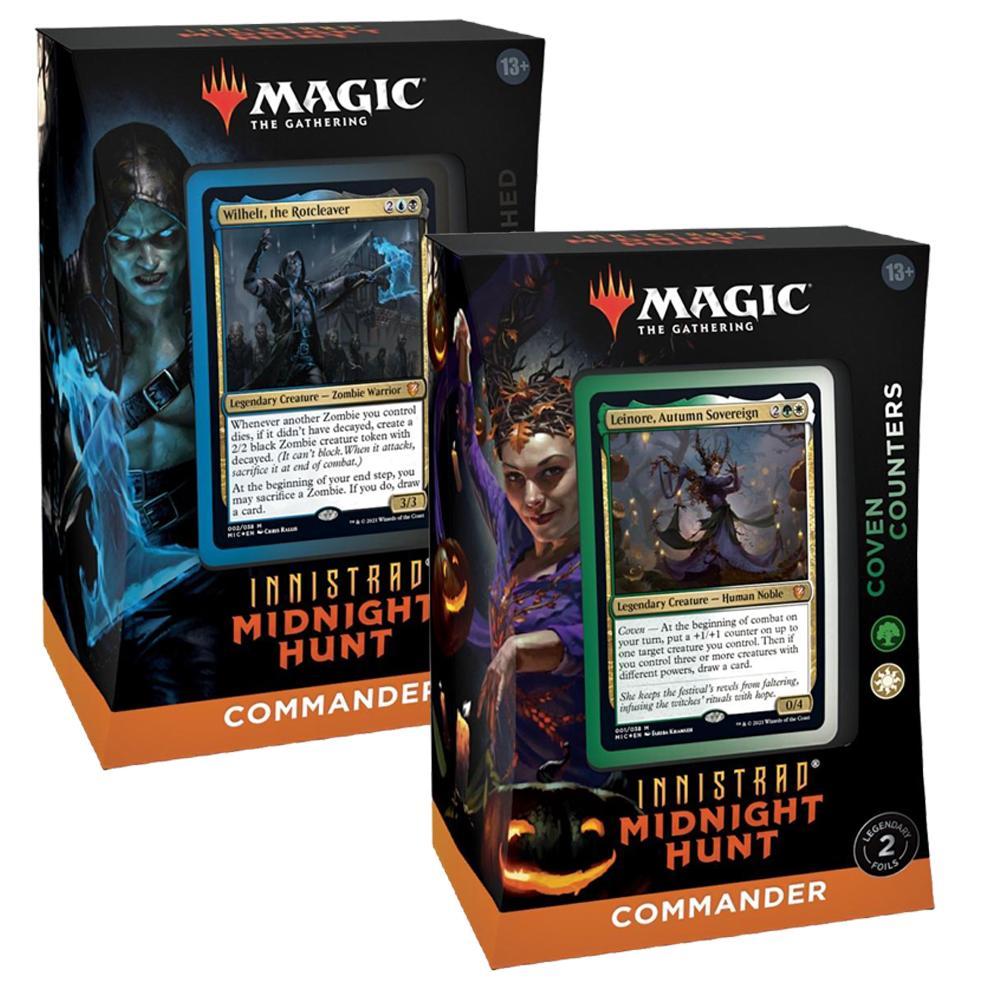 MTG Innistrad: Midnight Hunt Commander Deck EN