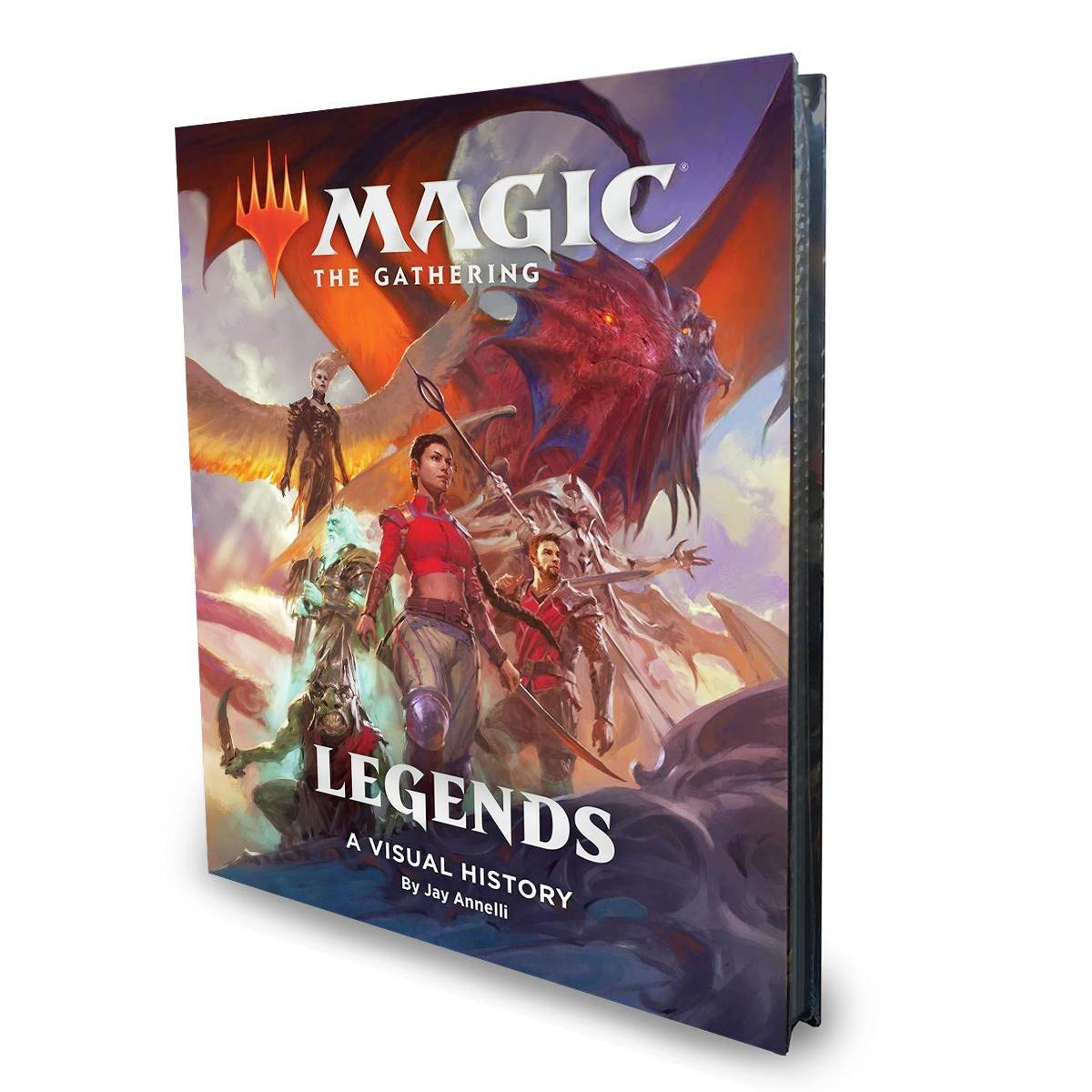 MTG Legends - A Visual History EN