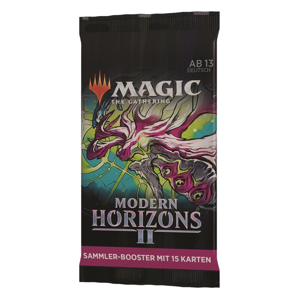 MTG Modern Horizonte 2 Sammler Booster Packung DE