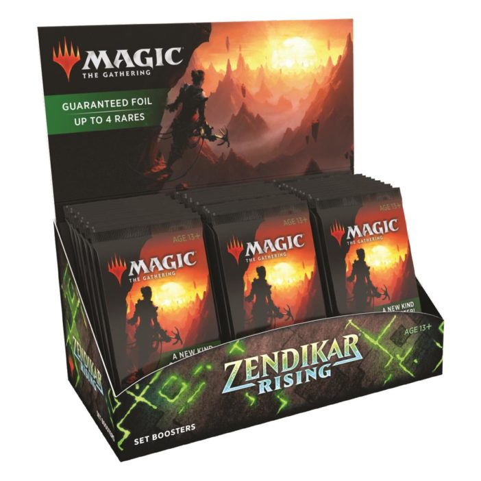 MTG Zendikar Rising Set Display EN