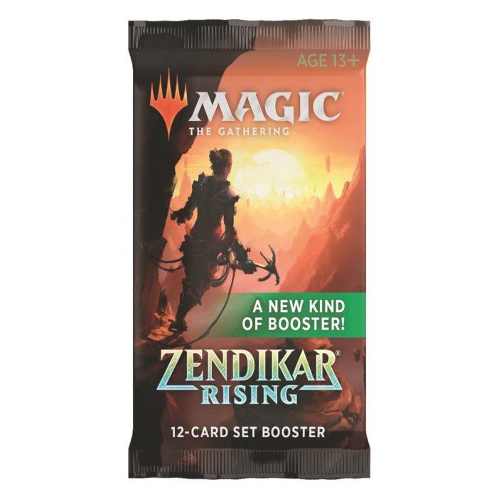 MTG Zendikar Rising Set Booster Pack EN
