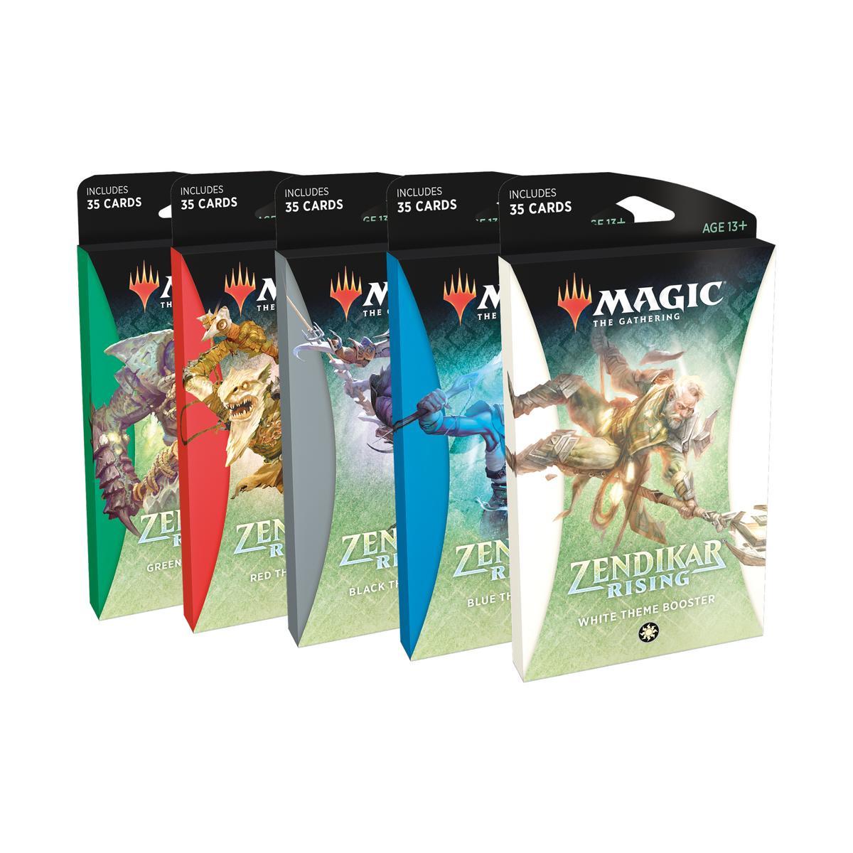 Magic MTG Zendikar Erneuerung Collector Booster Packung DE OVP NEU