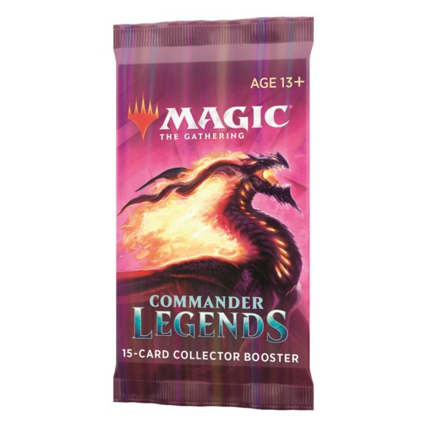 MTG Commander Legends Collector Booster Pack EN
