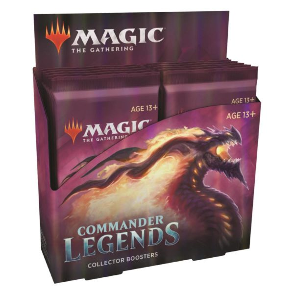 MTG Commander Legends Collector Display EN