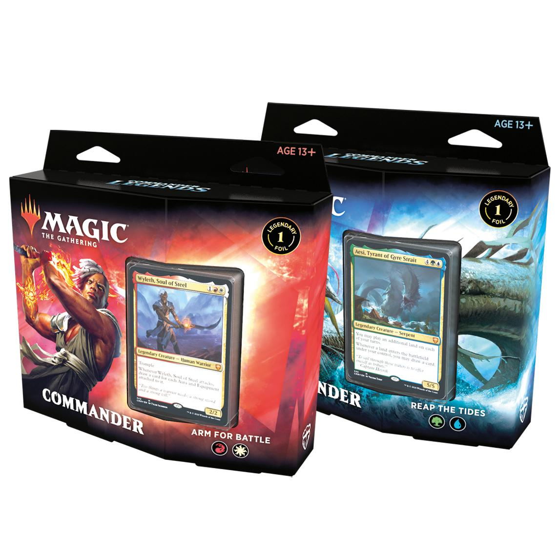 MTG Commander Legends Commander Deck EN
