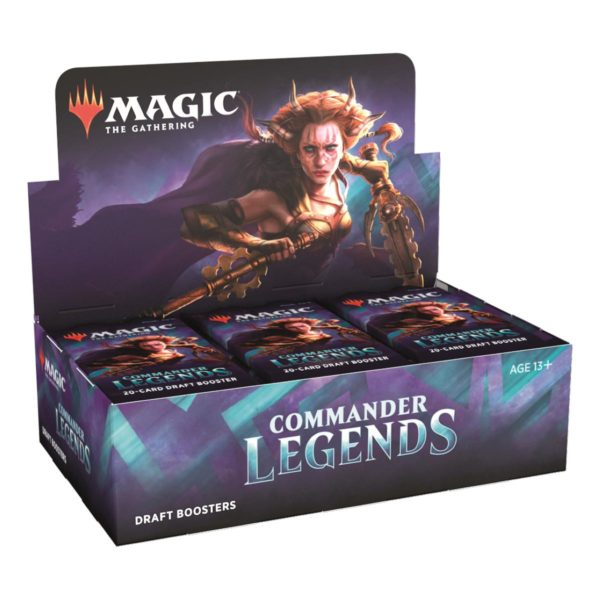 MTG Commander Legends Draft Display EN