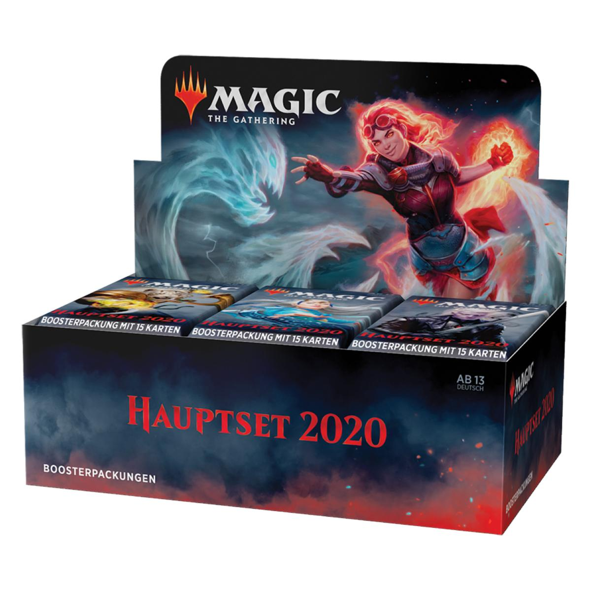 MTG Hauptset 2020 Display Deutsch