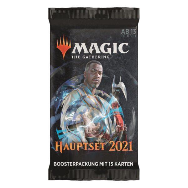 MTG Hauptset 2021 Draft Booster Pack Deutsch