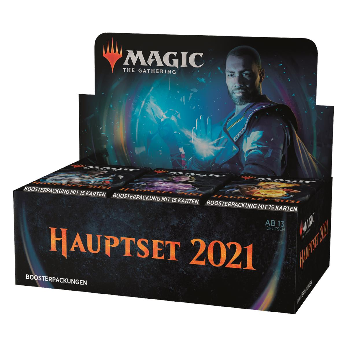 MTG Hauptset 2021 Draft Booster Pack Deutsch