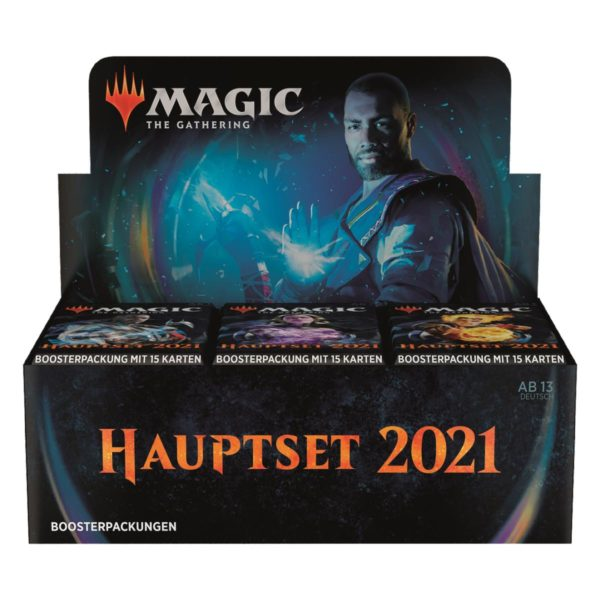 MTG Hauptset 2021 Draft Display 36 Boosters Deutsch