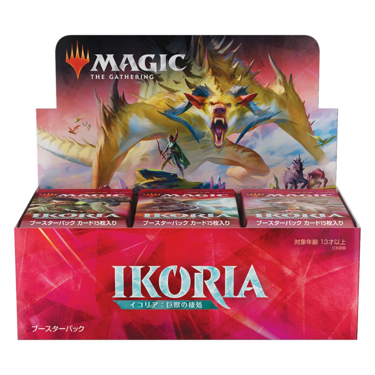 MTG Ikoria Lair of Behemoths Display 36 Booster Japanisch