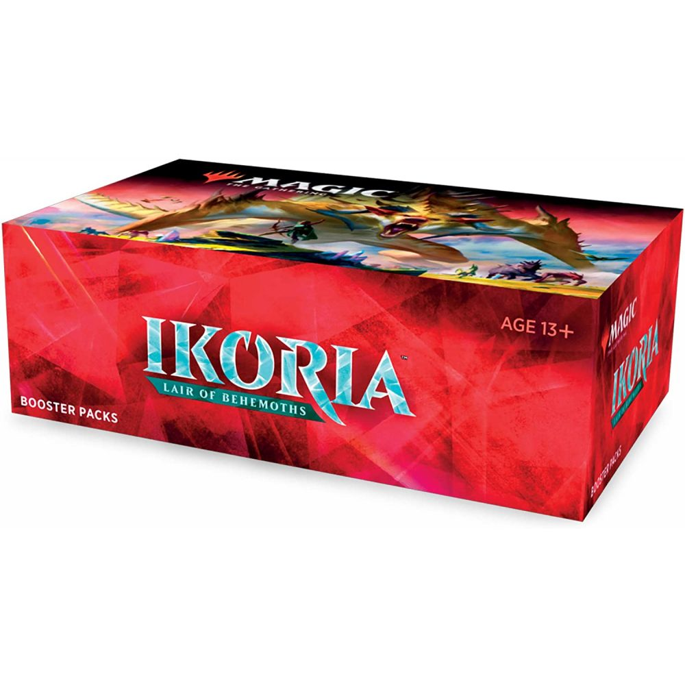 MTG Ikoria Lair of Behemoths Display 36 Booster Englisch