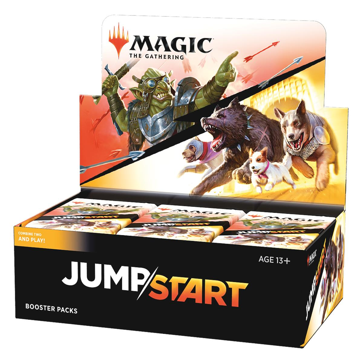 MTG Core Set 2021 Jumpstart Display 24 Boosters Englisch
