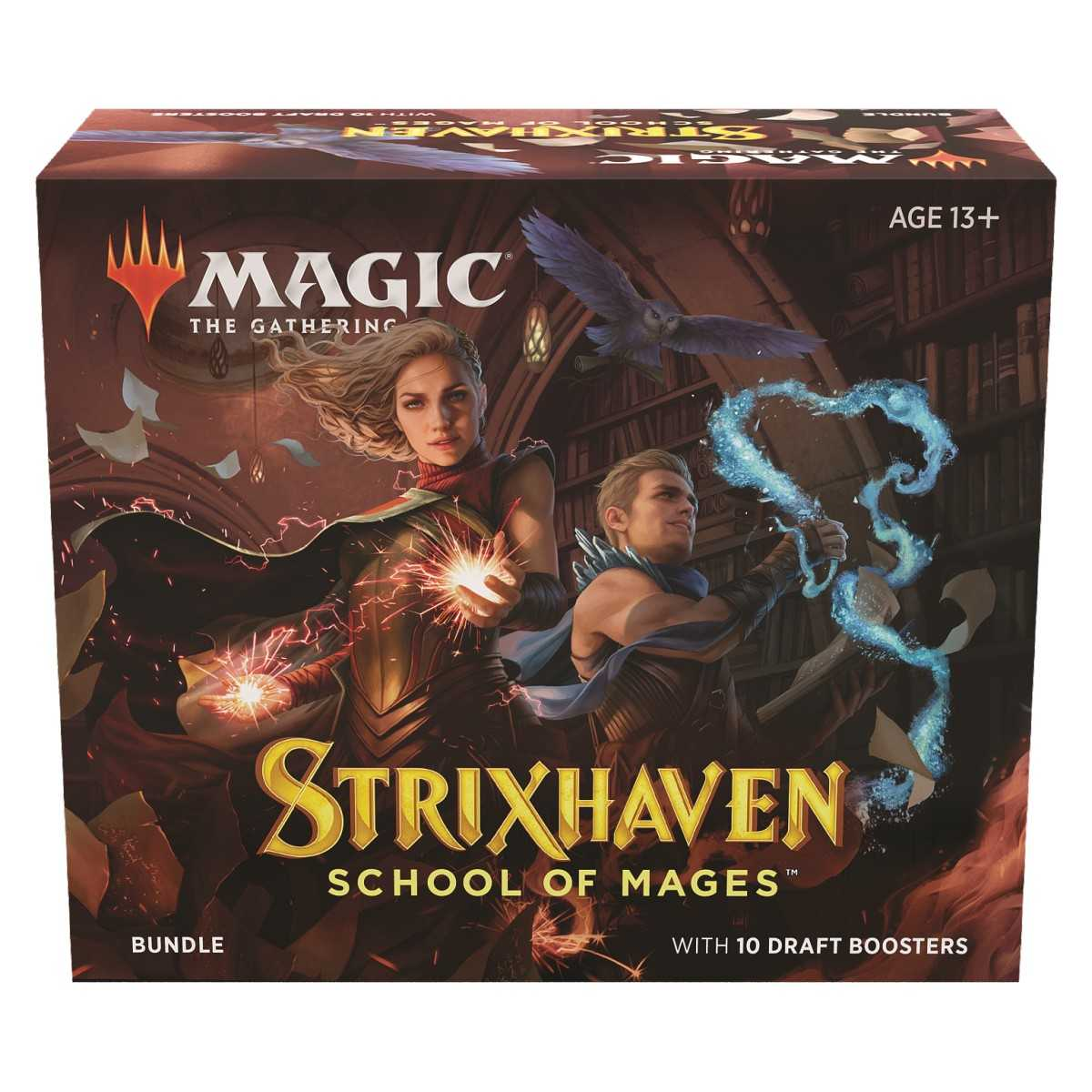 MTG Strixhaven: School of Mages Draft Booster Pack EN