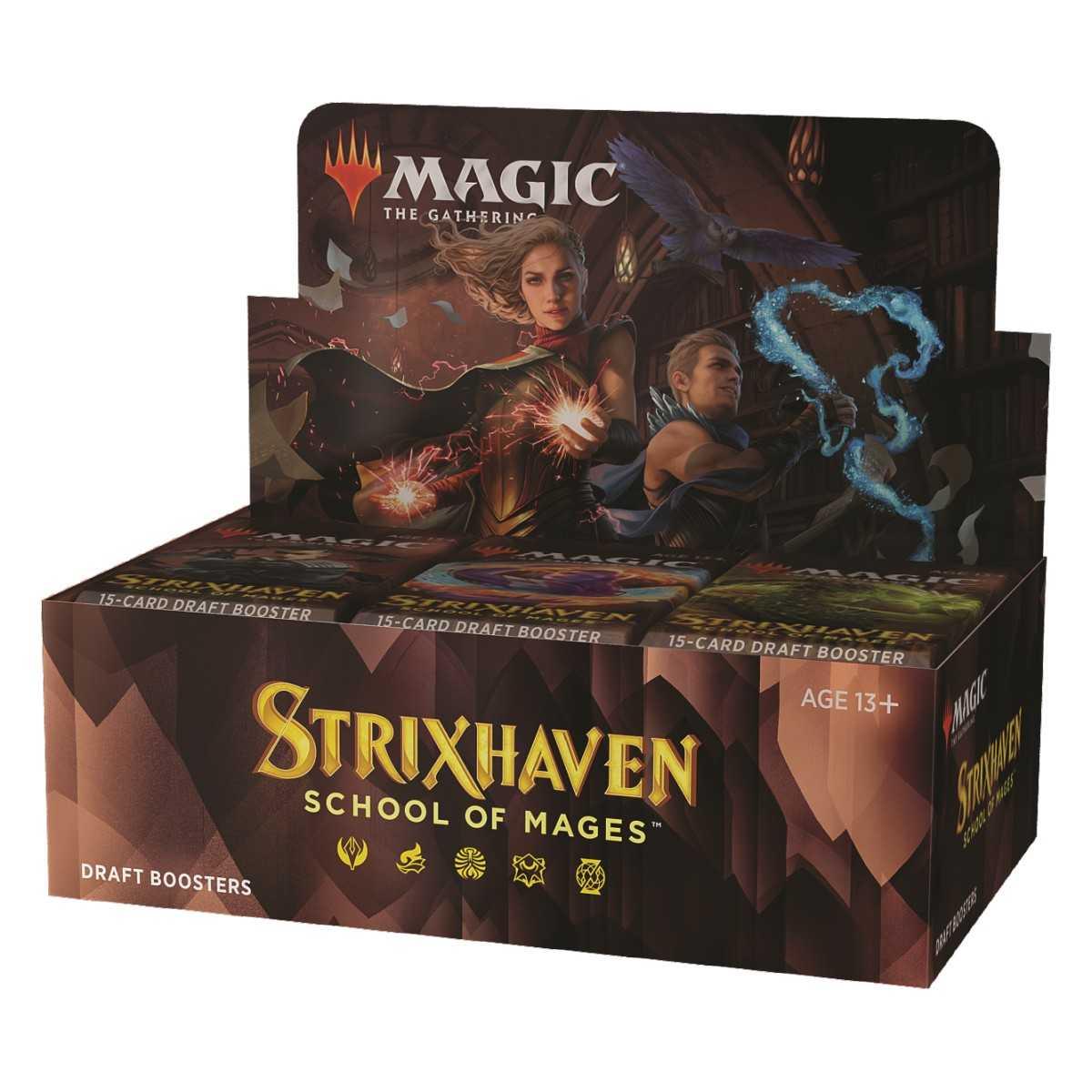 MTG Strixhaven: School of Mages Draft Booster Pack EN