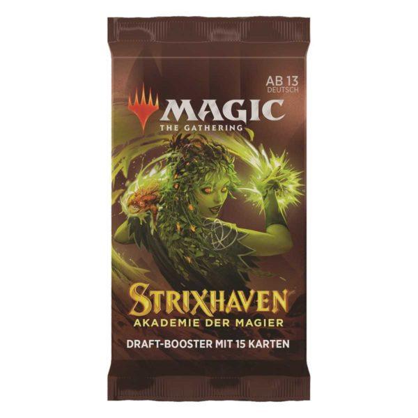 MTG Strixhaven: Akademie der Magier Draft Booster Packung DE