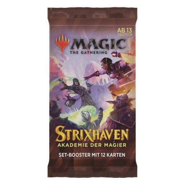 MTG Strixhaven: Akademie der Magier Set Booster Packung DE