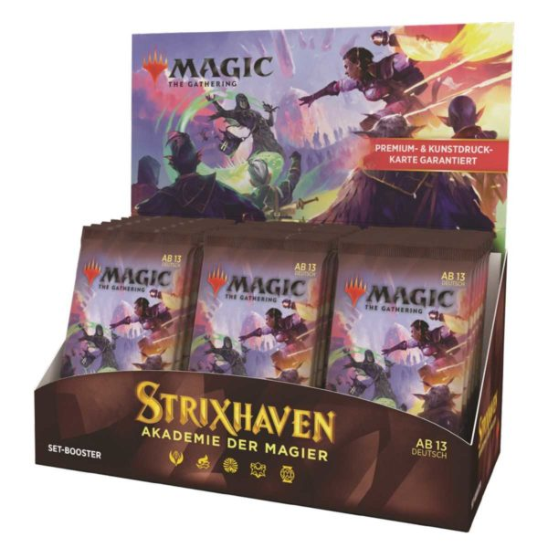 MTG Strixhaven: Akademie der Magier Set Display DE