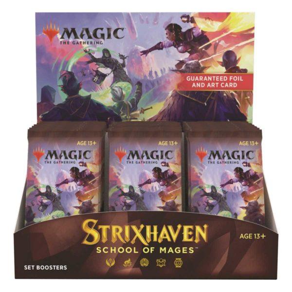 MTG Strixhaven: School of Mages Set Display EN