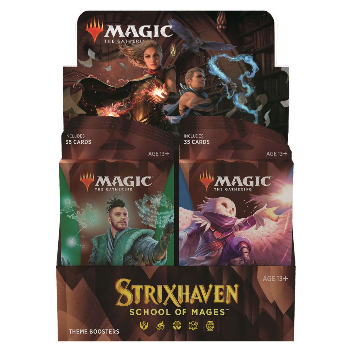 MTG Strixhaven: School of Mages Theme Booster Pack EN