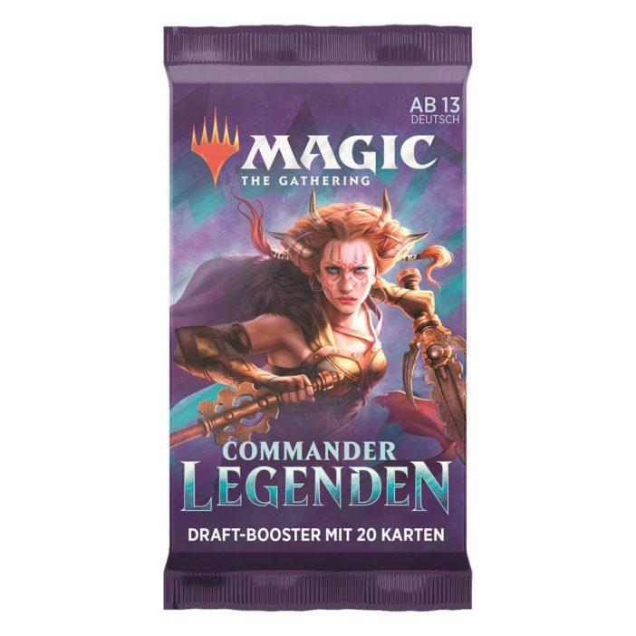 MTG Commander Legenden Draft Booster Packung DE