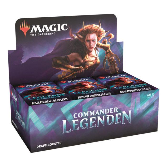MTG Commander Legenden Draft Display DE
