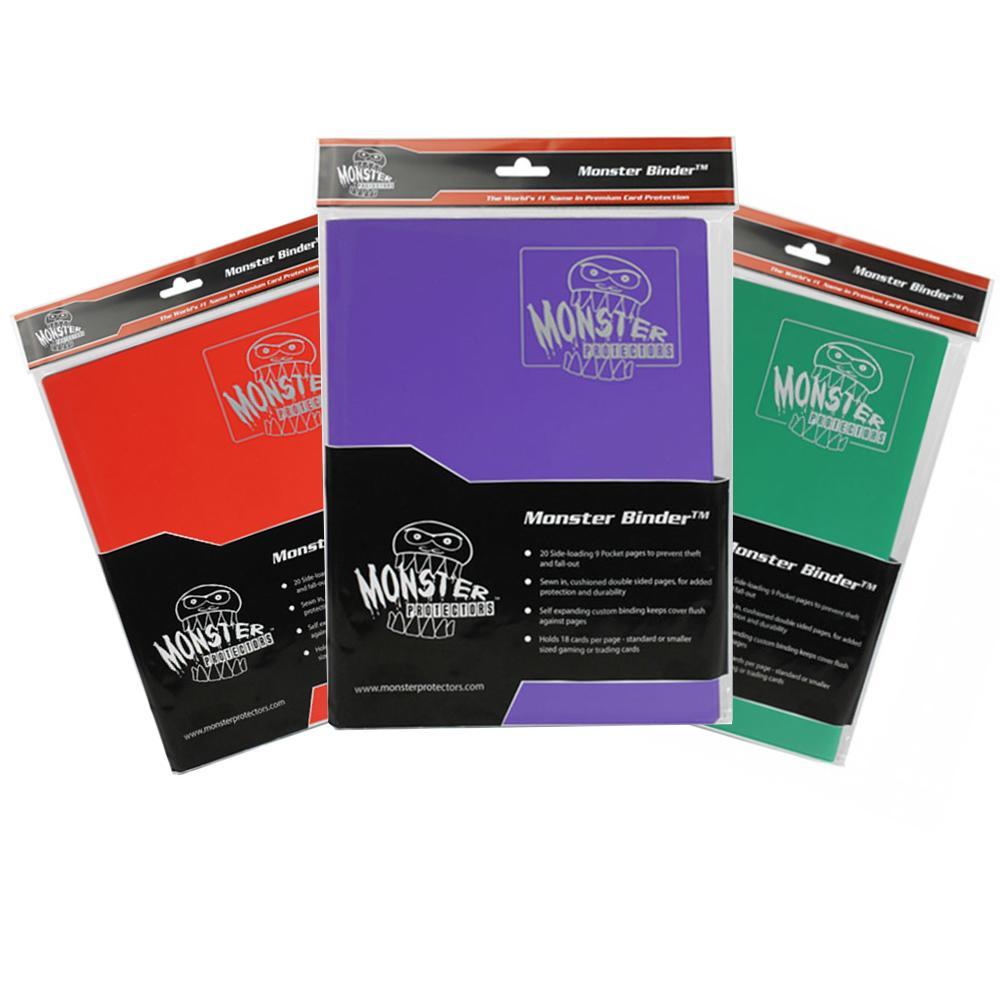 Monster Matte 9 Pocket Binder