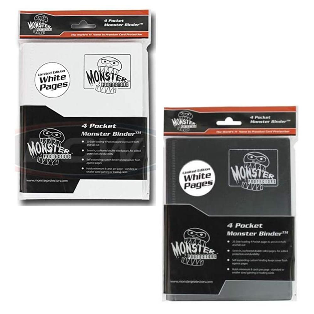 Monster White Pages Limited Edition 4 Pocket Binder