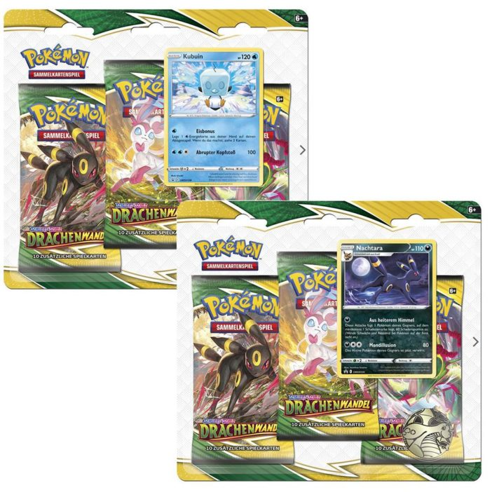 Pokémon Drachenwandel Blister DE