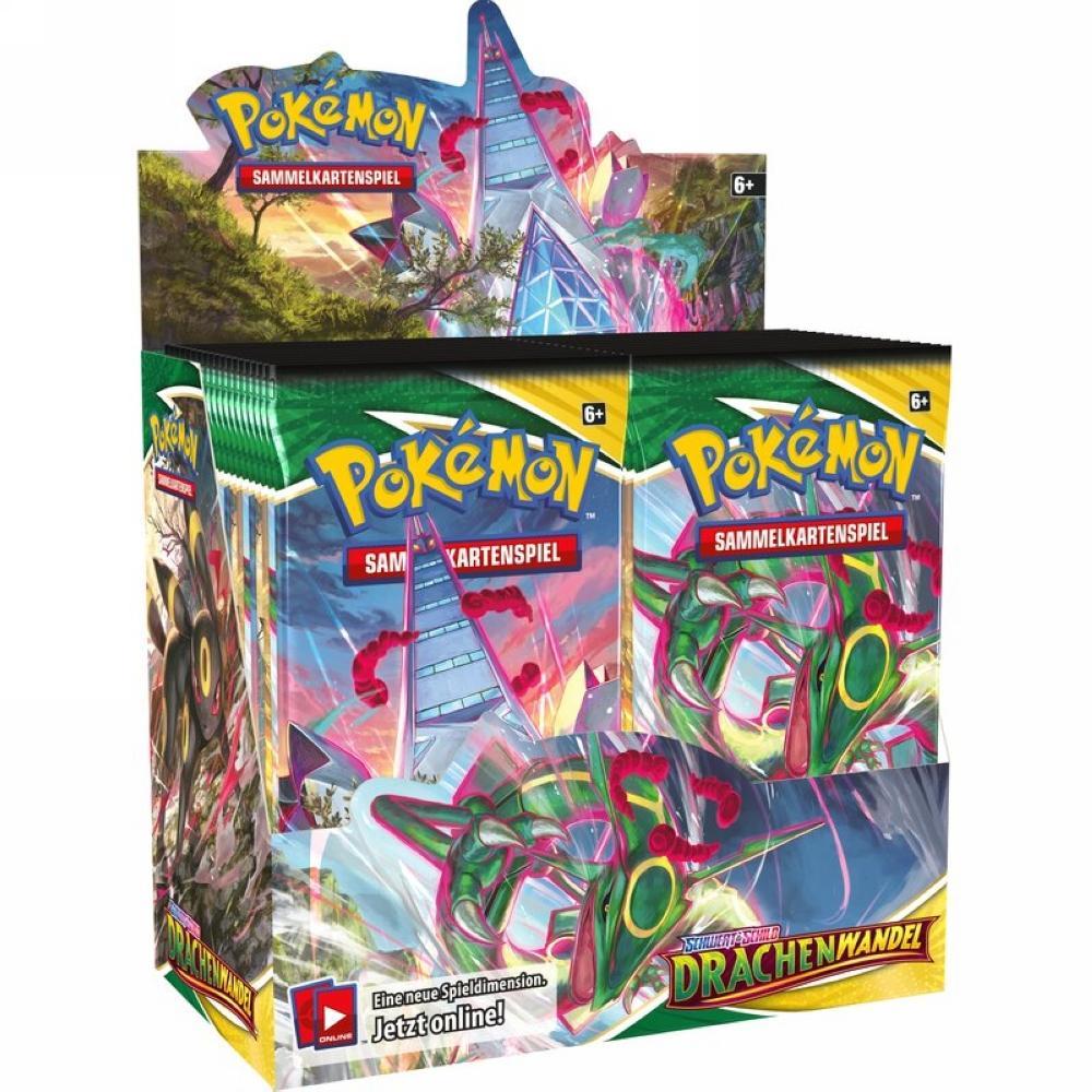 Pokémon Drachenwandel Display DE