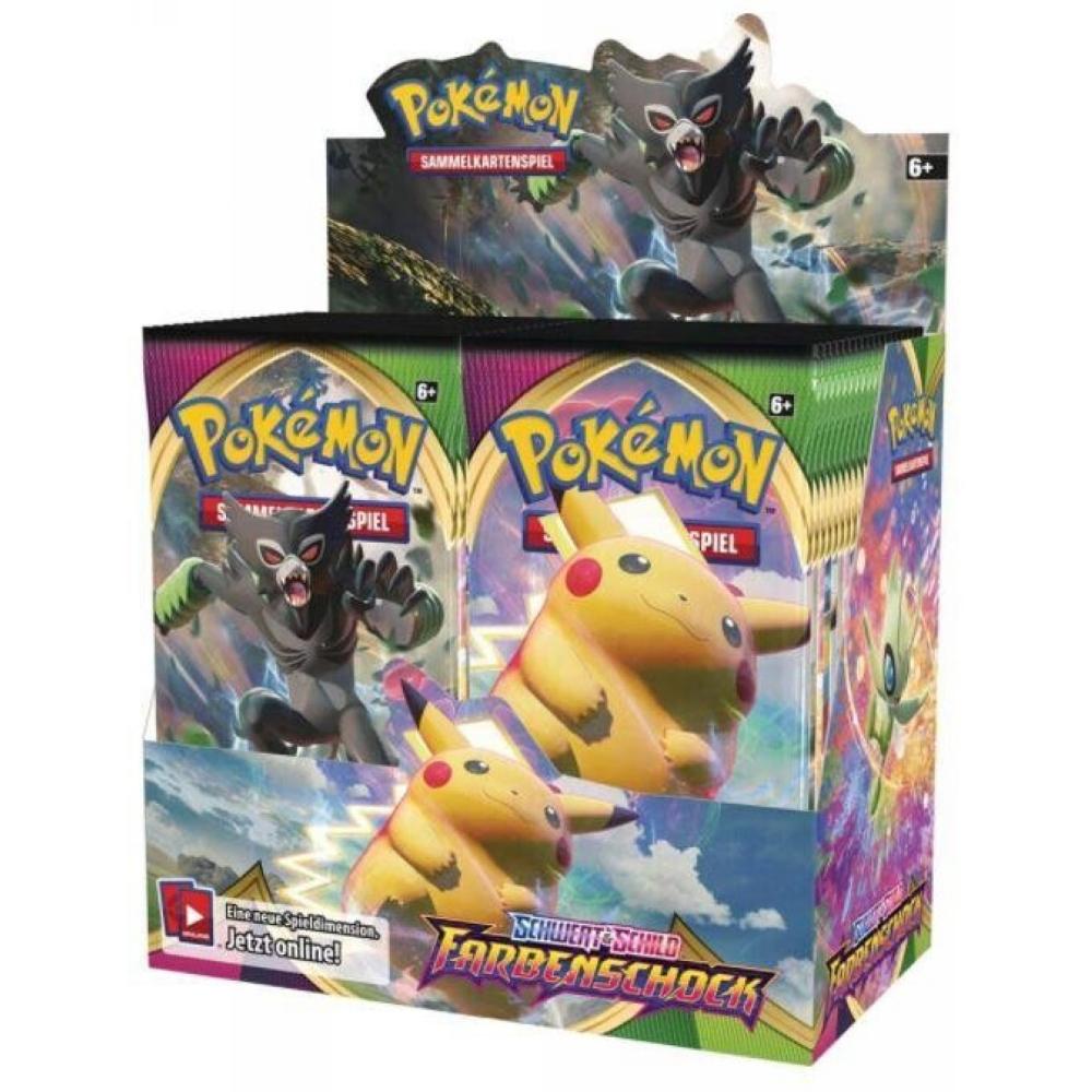 Pokémon Farbenschock Display DE