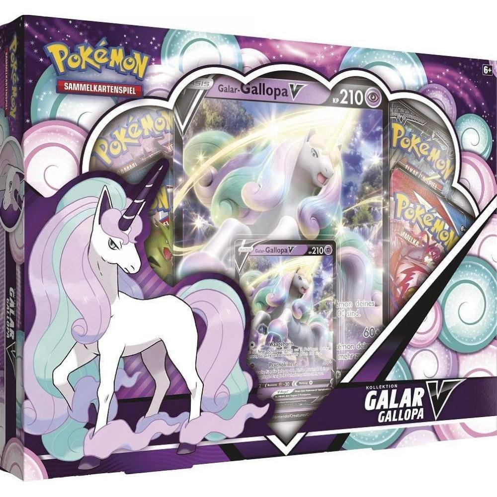 Pokémon Galar-Gallopa V Kollektion DE