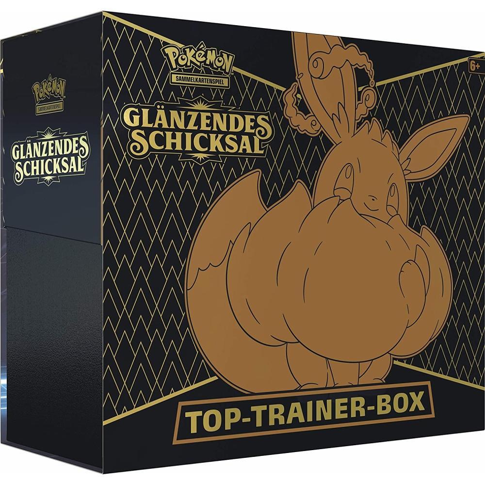 Pokémon Glänzendes Schicksal Top Trainer Box DE